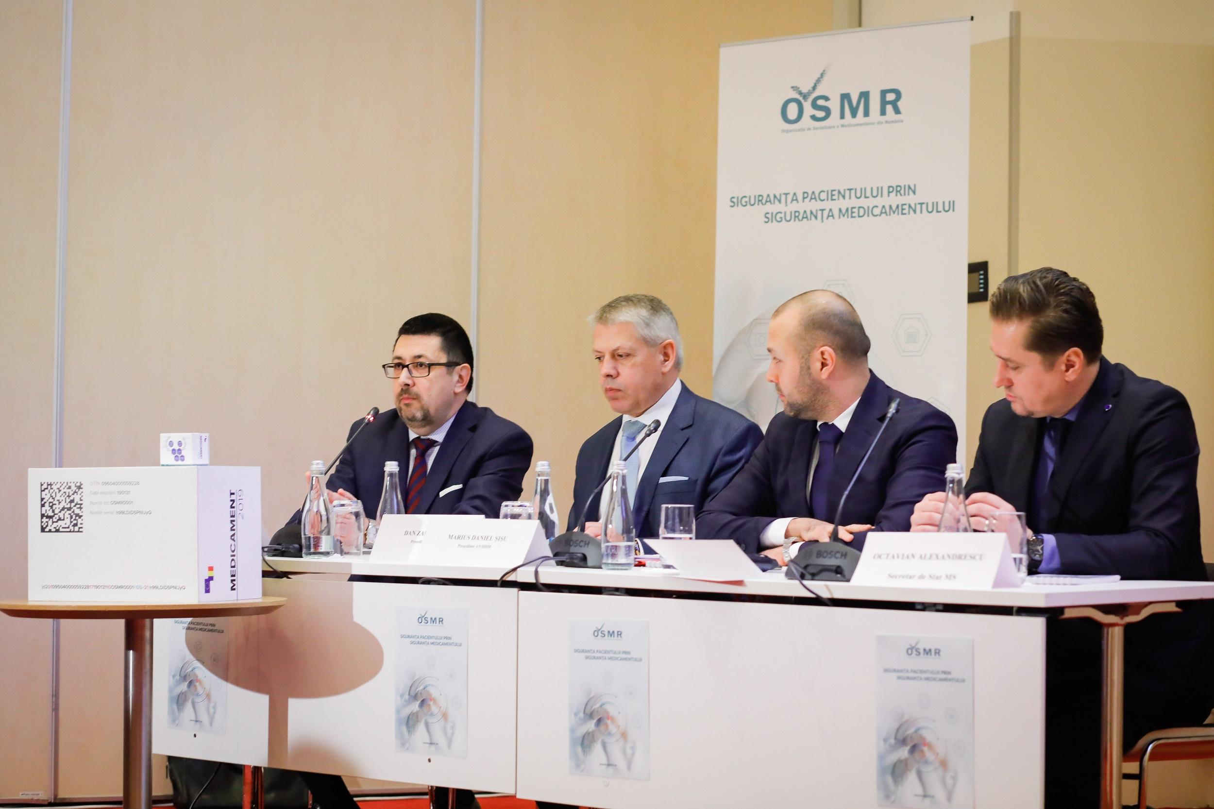 Conferința OSMR - Sistemul Național de Verificare al Medicamentelor (SNVM) devine operațional